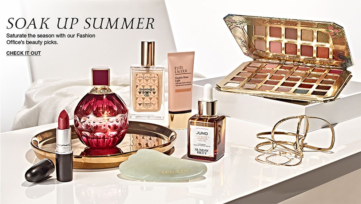 Soak up Summer, Saturate the season with our fashion office's beauty picks, Check it Out