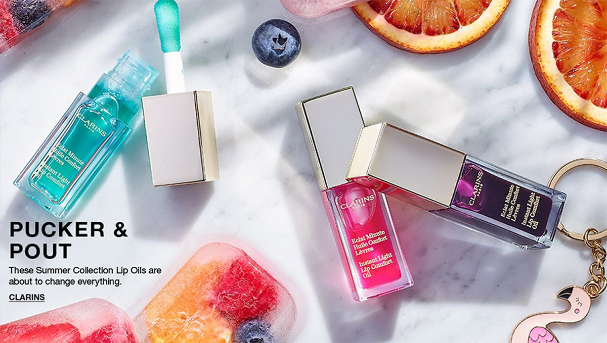 Pucker and Pout, These Summer Collection Lip Oil are about to change everything, Clarins