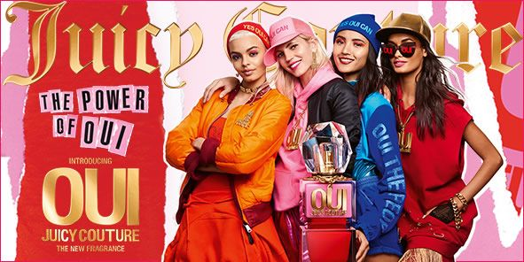 Juicy, The Power of OUI, Introducing OUI, Juicy Couture, The New Fragrance