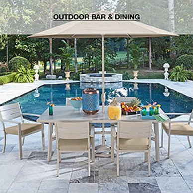 Outdoor Bar And Dining