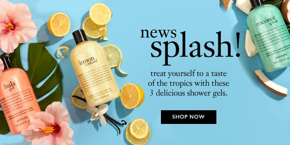 News Splash! Treat yourself to a taste of the tropics with these 3 delicious shower gels, Shop Now