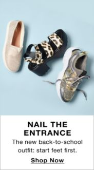 1b6badbc Nail The Entrance, The new back-to-school outfit: start feet first