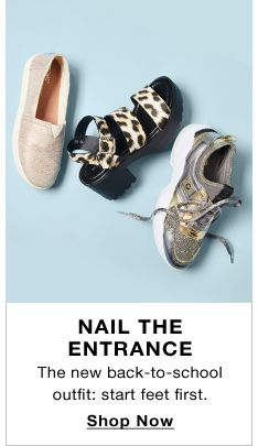 0e059fcc54355 Nail The Entrance, The new back-to-school outfit: start feet first