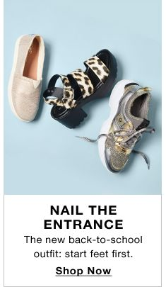 Nail The Entrance, The new back-to-school outfit: start feet first, Shop Now