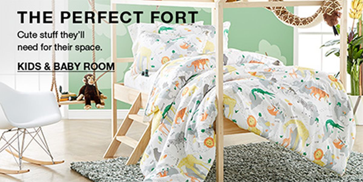 The Perfect Fort, Kids and Baby Room