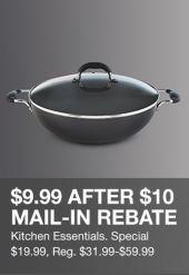 59bc500d8 $3.33 After $10 Mail –In Rebate, Kitchen Essentials, Special $19.99, Reg  $31.99