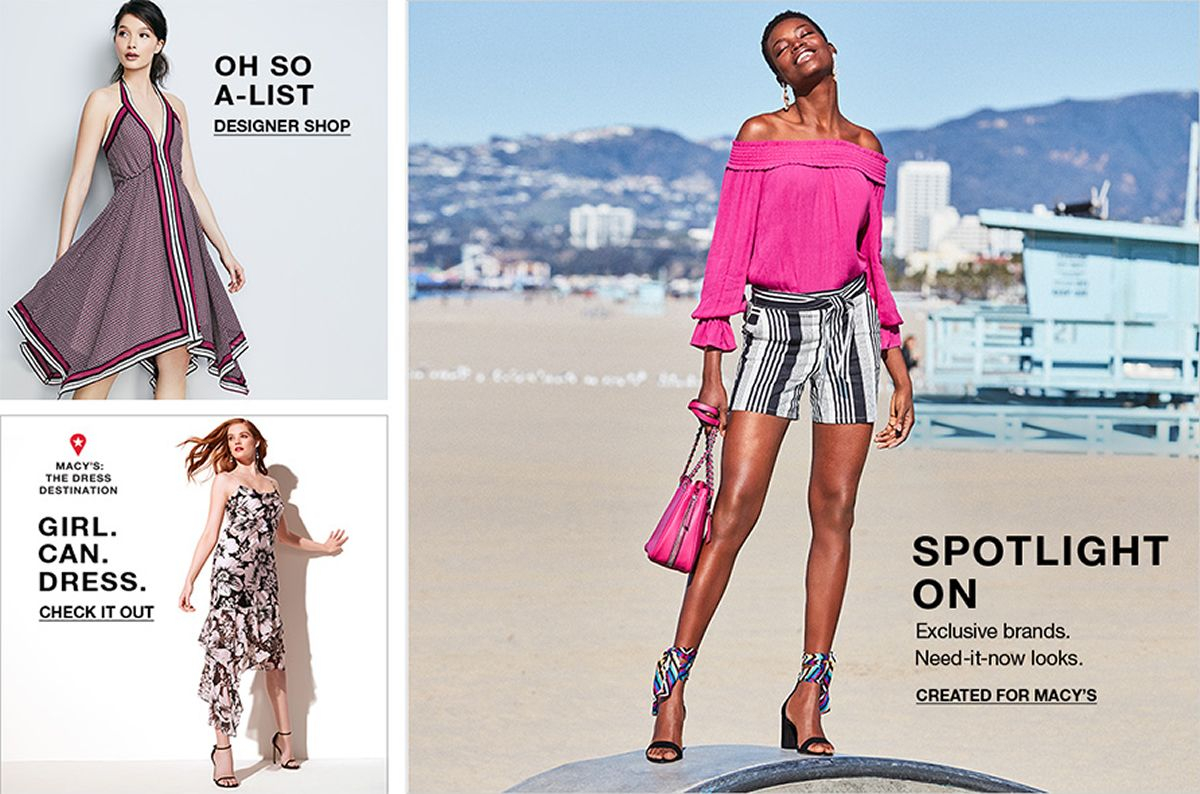 Oh so a-List, Spotlight on, Created For Macy's, Girl, can Dress, Check it Out