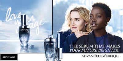 The Serum That Makes Your Future Brighter, Shop Now, Advanced Genifique
