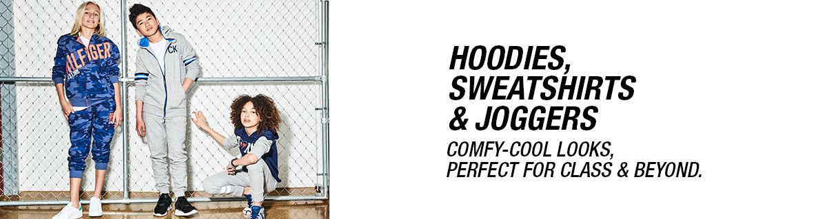 Hoodies, Sweatshirts and Joggers, Comfy-Cool Looks, Perfect For Class and Beyond