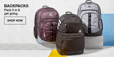 Backpacks, Pack it in and get going, Shop Now