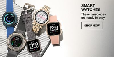 Smart Watches, These timepieces are ready to play, Shop Now