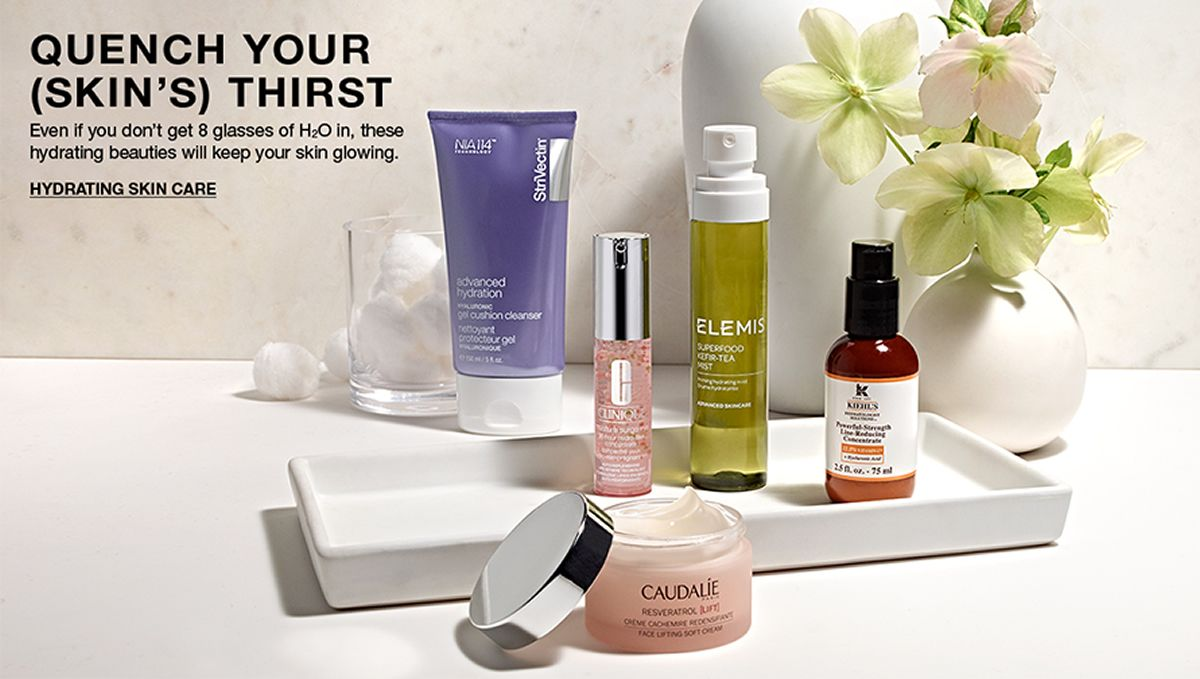 Quench Your (Skin's) Thirst, Hydrating Skin Care