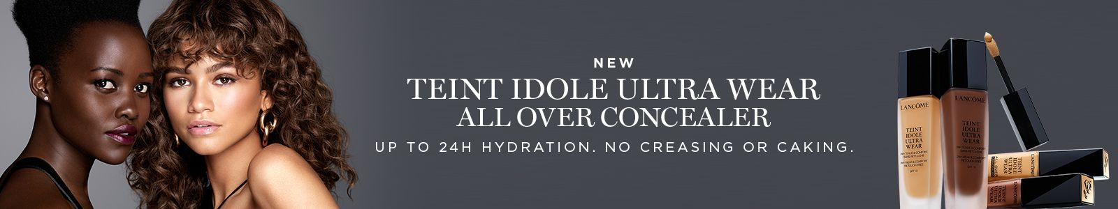 New, Teint idole ultra wear all over concealer, Up to 24h hydration, No creasing or caking