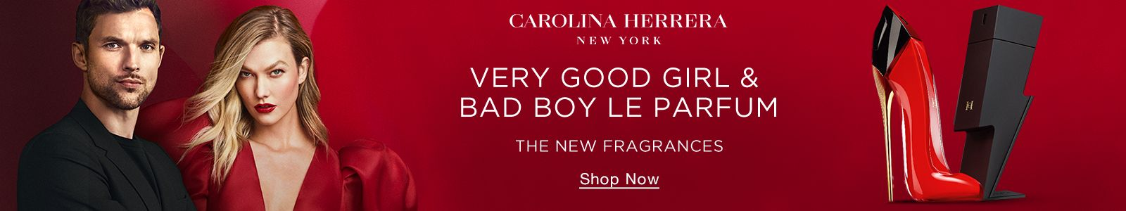 Caroline Herrera, New York, Very Good Girl and Bad Boy Le Parfum, The New Fragrances