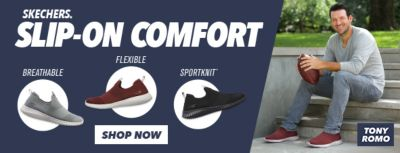 Skechers, Slip-on Comfort, Breathable, Flexible, Sportknit, Shop Now
