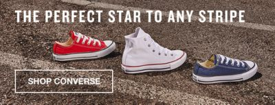 The Perfect Star to Any Stripe, Shop Converse