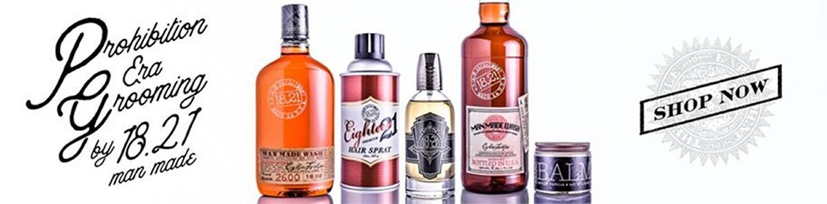 Prohibition Era grooming by 18.21 man made, Shop Now