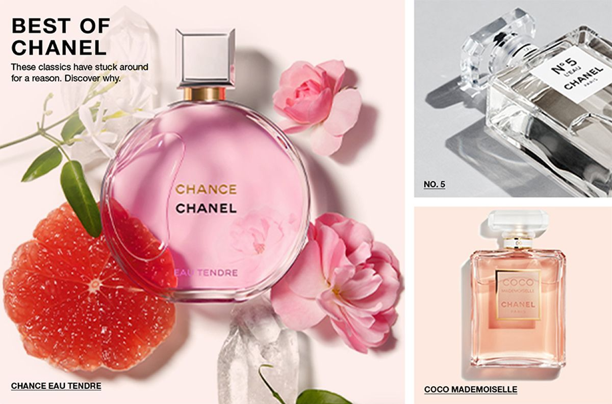 Best of Chanel, These classics have stuck around for a reason, Discover why, Chance Eau Tendre, No.5, Coco Mademoiselle