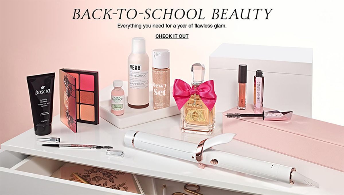 Back-to-School Beauty, Everything you need for a year of flawless glam, Check it Out