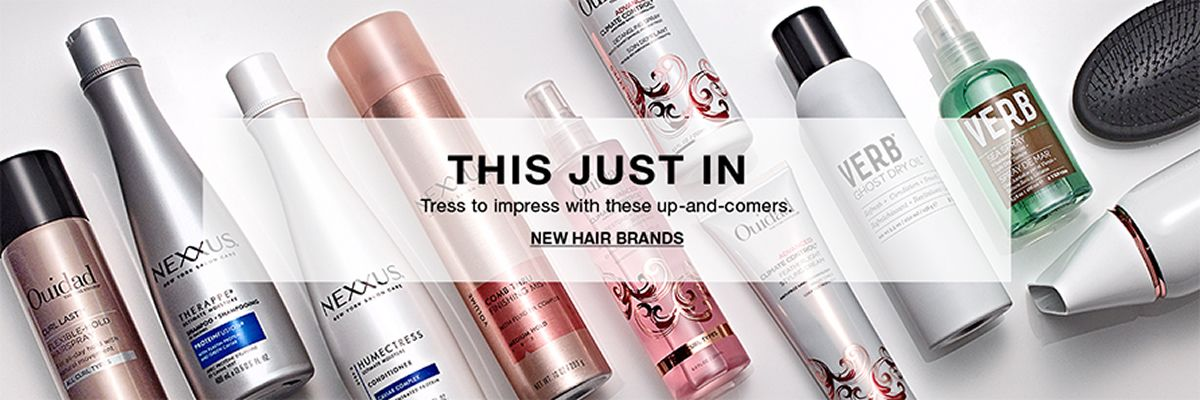 This Just in, Tress to impress with these up-and-comers, New Hair Brands