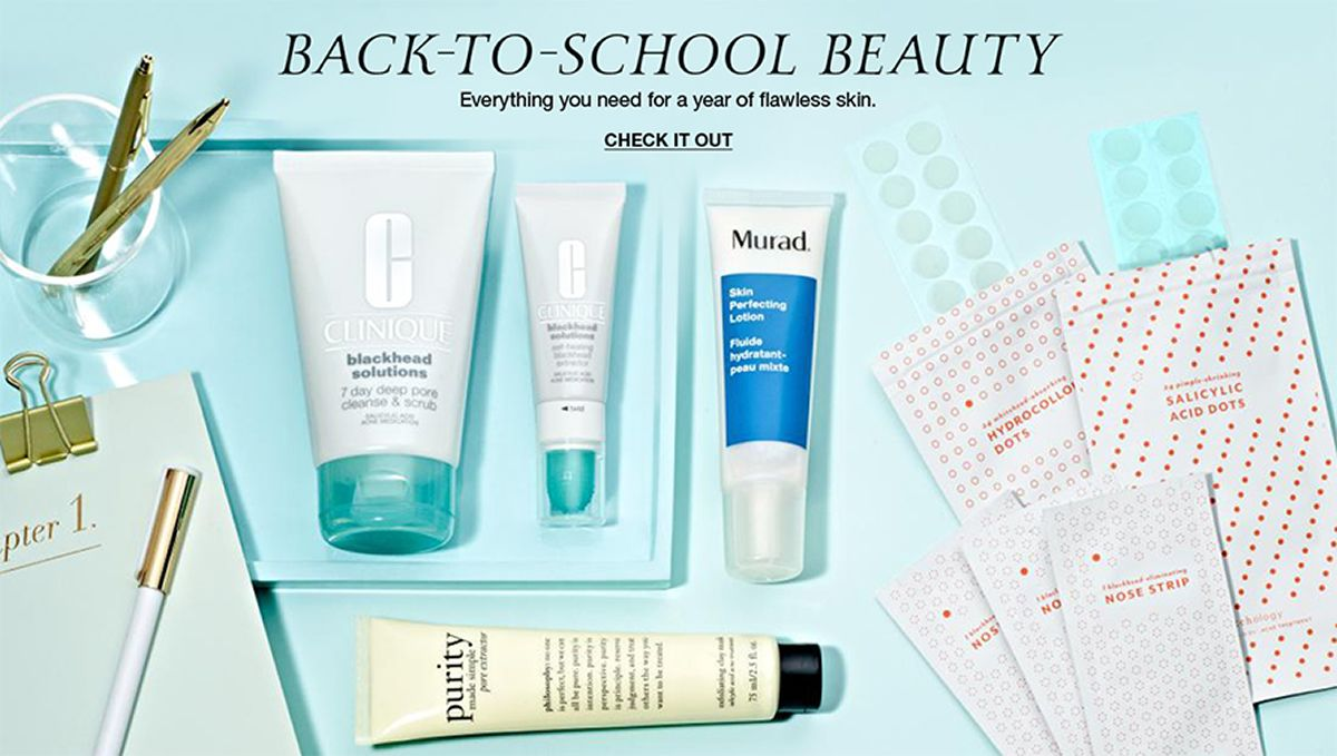 Back-to-School Beauty, Everything you need for a year of flawless skin, Check it Out