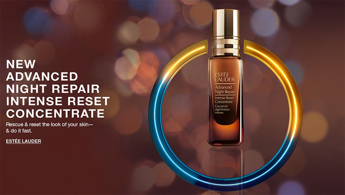 New Advanced Night Repair Intense Reset Concentrate, Rescue and reset the look of your skin-and do it fast, Estee Lauder