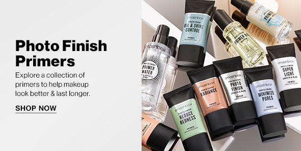 Photo Finish Primers, Explore a collection of primers to help makeup look better and last longer, Shop Now