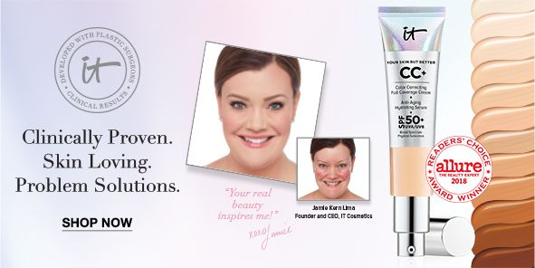 Clinically Proven, Skin Loving, Problem Solutions, Shop Now