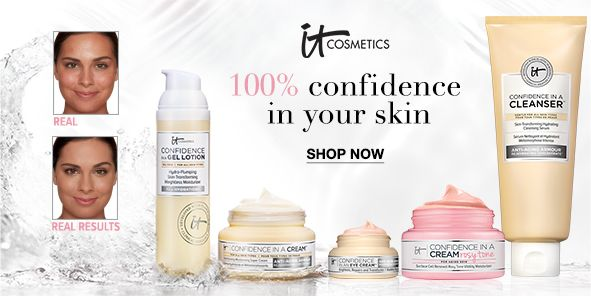 Itcosmetics, 100 percent confidence in your skin, Shop Now