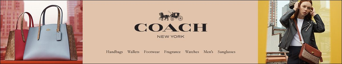 Coach, New york, handbags, Wallets, Footwear, Fragrance, Watches, Men's, Sunglasses