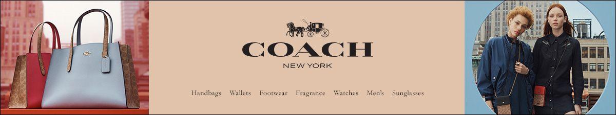 Coach New York, Handbags, Wallets, Footwear, Fragrance, Watches, Men's, Sunglasses