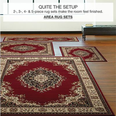 Quite The Setup, 2,3,4 and 5-Piece rug sets make the room feel finished, Area Rug Sets