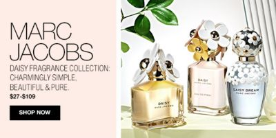 Marc Jacobs, Daisy Fragrance Collection Charmingly Simple Beautiful and Pure, $27-$109, Shop Now