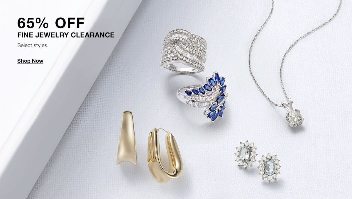 65 percent Off, Fine Jewelry Clearance, Shop Now