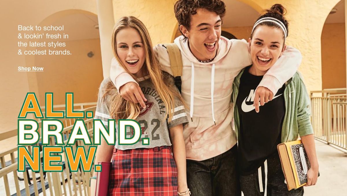 Back to school and lookin' fresh in the latest styles and coolest brands, Shop · Macy's ...