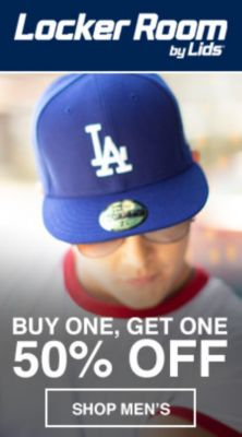 Locker Room by Lids, Buy One, Get One 50 percent Off, Shop Men's