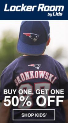 Locker Room by Lids, Buy One, Get One 50 percent Off, Shop Kid's
