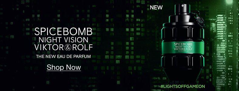 Spicebomb Night Vision Viktor and Rolf, The New Eau de Parfum, Shop Now