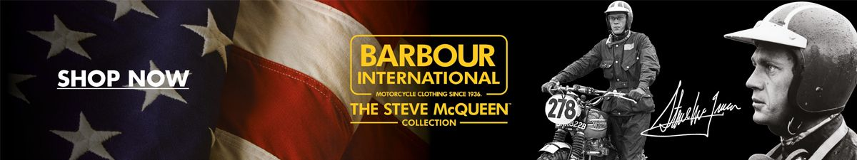 Shop Now, Barbour International, The Steve McQueen Collection