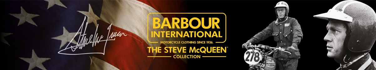 Barbour International, Motorcycles Clothing Since 1936, The Steve McQueen, Collection