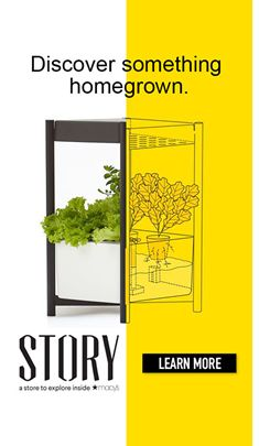 Discover somthing homegrown, Story a store to explore inside Macys Learn More