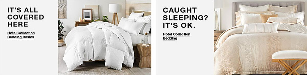 It's all Covered Here, Hotel Collection Bedding Basics, Caught Sleeping? It's ok, Hotel Collection Bedding