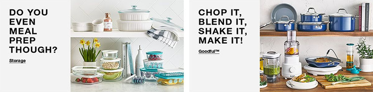 Do You Even Meal Prep Though? Storage, Chop it, Blend it, Shake it, Make it! Goodful
