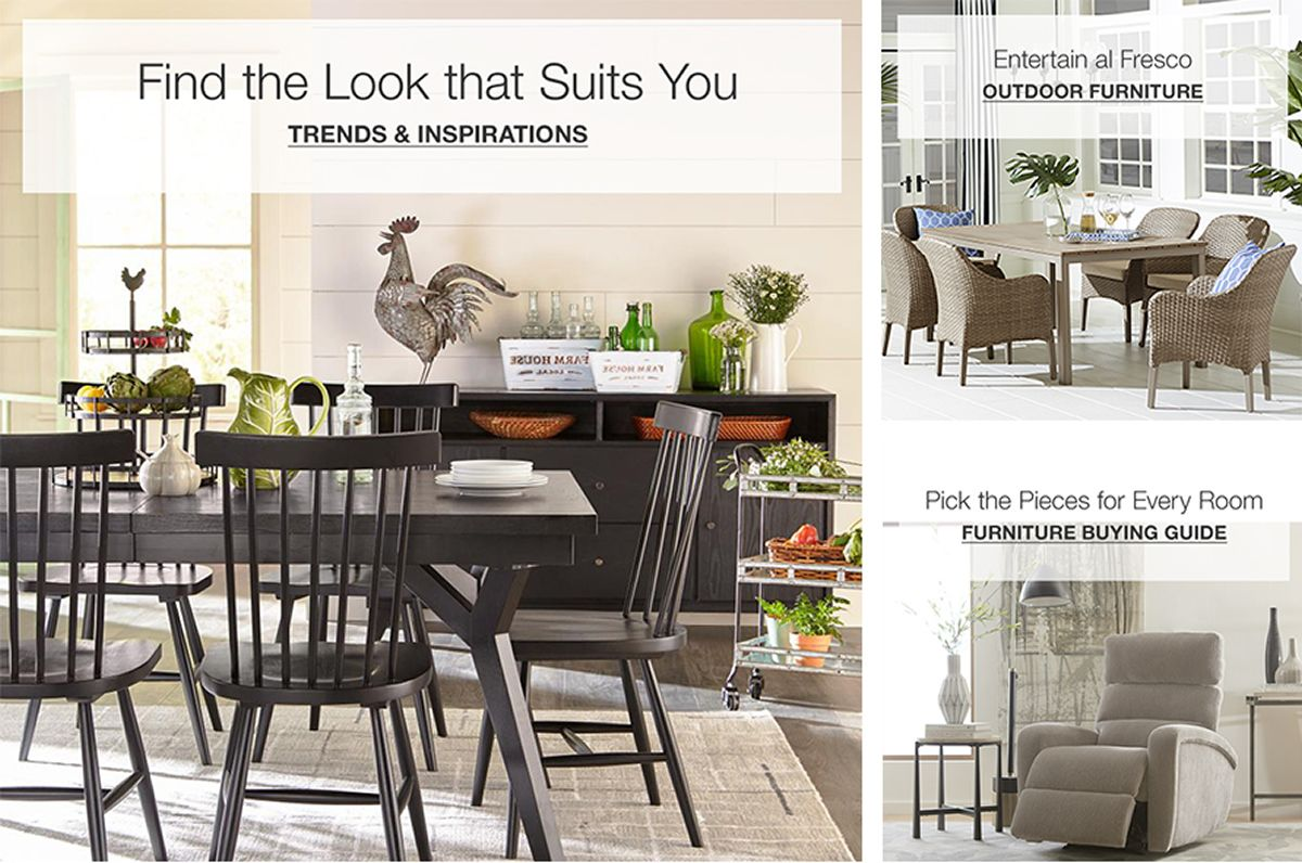 Find The Look That Suits You Trends And Inspirations Outdoor Furniture Buying