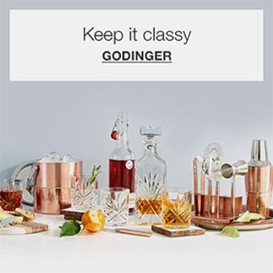 keep it classy, Godinger