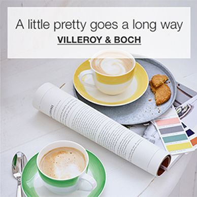 A little pretty goes a long way, Villeroy and Boch