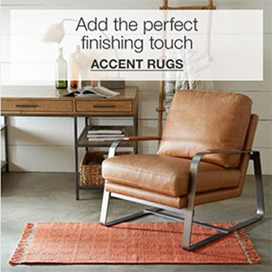 Add the perfect finishing touch, Accent Rugs