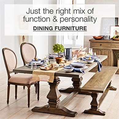 Just the right mix of function and personality, Dining Furniture