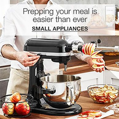 Preparing your meal is easier than ever, Small Appliances