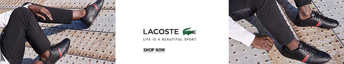 Lacoste, Life is a Beautiful Sport, Shop Now